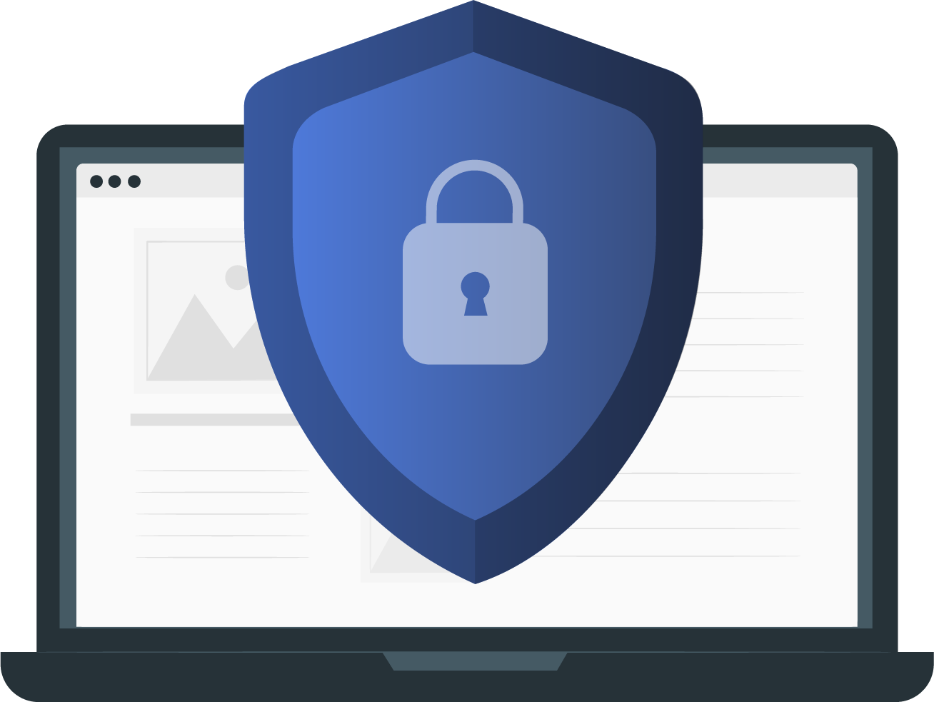 How VPNs Protect you icon