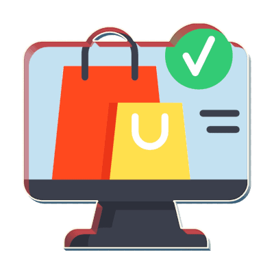 shop online with ecommerce