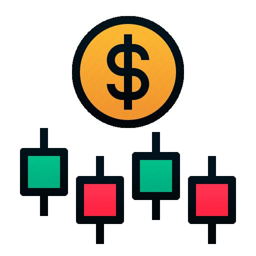 stock trade icon