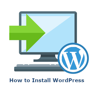 how to install wordpress icon