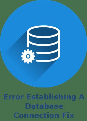 Error Establishing A Database Connection Fix badge