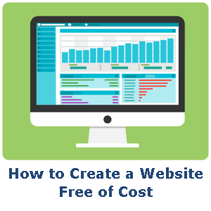 How to Create a Website Free of Cost badge