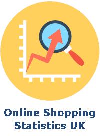Online Shopping Statistics UK badge