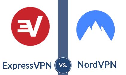 ExpressVPN vs NordVPN badge