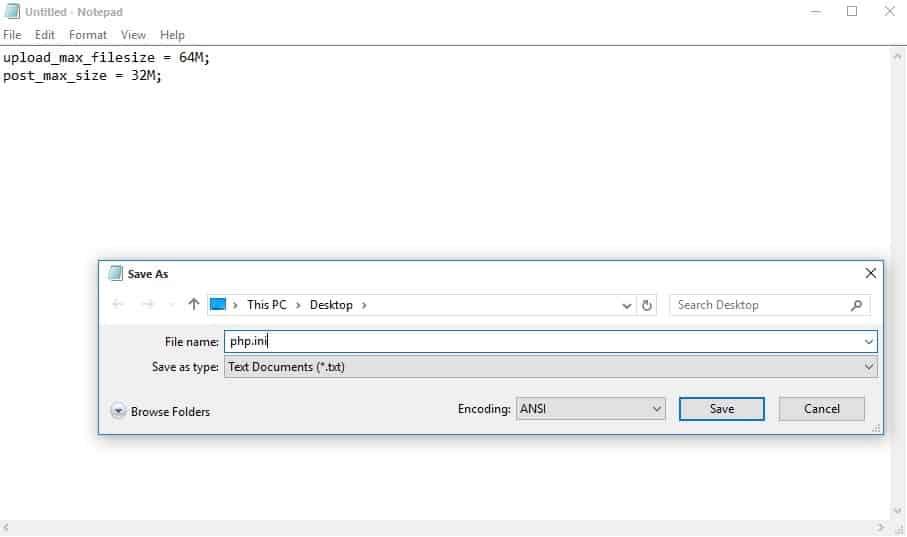 PHP.INI file1