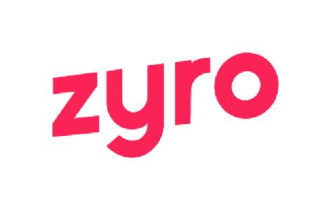 zyro logo pink
